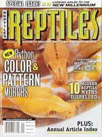 Reptiles Magazine - January 2000