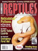 Reptiles Magazine - July 2002